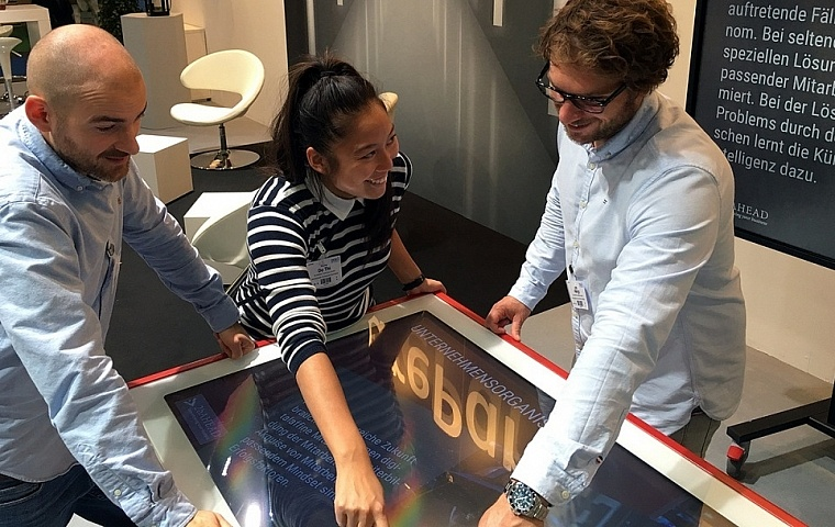 FuturePark auf der DKM - Multitouch powered by Videro