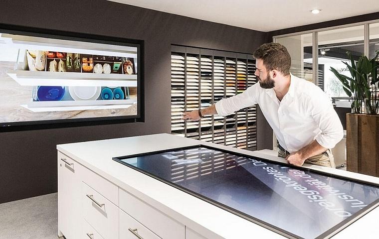 schuster home company ingolstadt begeistert mit digitalen beratungstools digital signage magazin. Black Bedroom Furniture Sets. Home Design Ideas