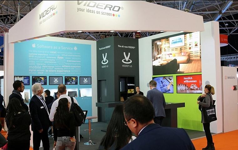 Videro auf der ISE 2018 - No-Touch Installation und VIDERO 4.0